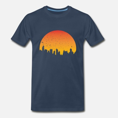 Skyline Skyline Sunshine Sunrise 2 - Men's Organic T-Shirt