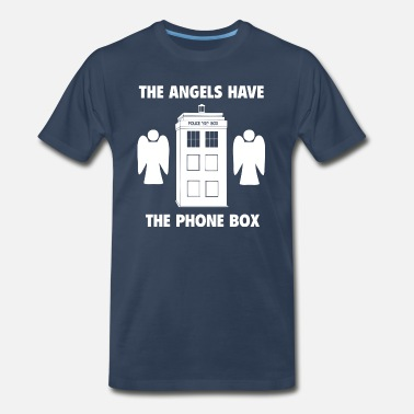 Booth The angels have the phone box - Men's Organic T-Shirt