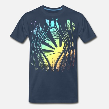 Freed Freed From the Bars - Men's Organic T-Shirt