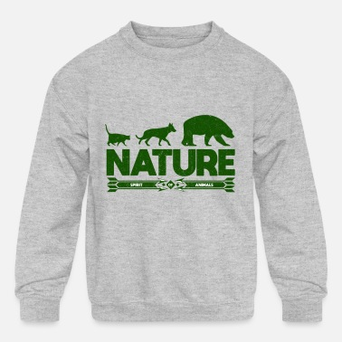 Nature Lovers Nature Shirt For Nature Lovers - Kids' Crewneck Sweatshirt