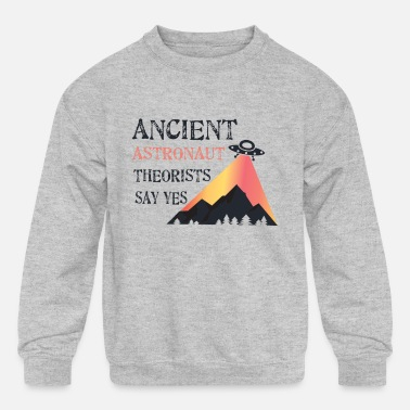 Ancient UFO Ancient - Kids' Crewneck Sweatshirt