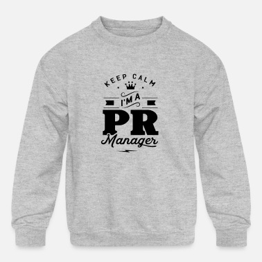 Team PR Manager - Kids' Crewneck Sweatshirt