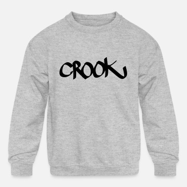 Crook crook - Kids' Crewneck Sweatshirt