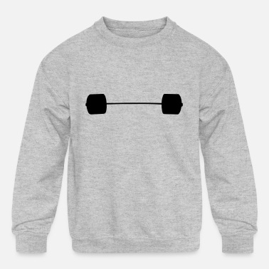 Loading Bar Loaded Bar 270kg - Kids' Crewneck Sweatshirt