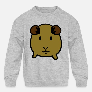 Childrens Keep Calm and Love Guinea Pigs Sweater Baby Girls Pullover Sweaters