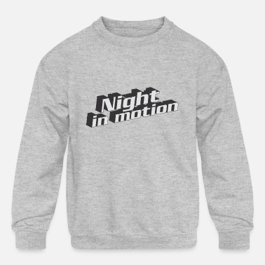 Motion Night In Motion - Kids' Crewneck Sweatshirt