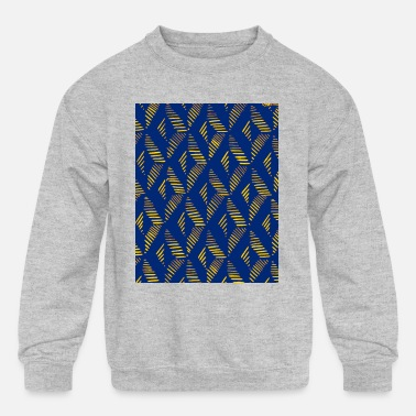 Abstract Seamless tropical pattern - Kids' Crewneck Sweatshirt