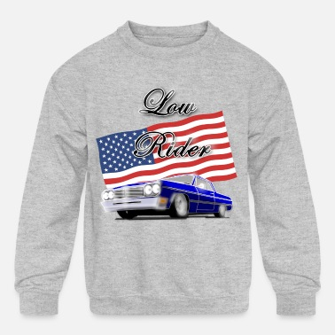 Low Rider - Kids' Crewneck Sweatshirt