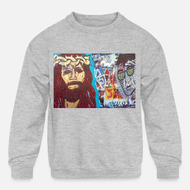 Graffiti7 - Kids' Crewneck Sweatshirt