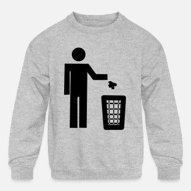 Recycling recycle - Kids' Crewneck Sweatshirt