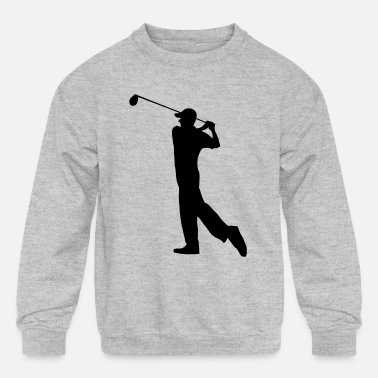 Golf Golf - Golf clubs - Kids' Crewneck Sweatshirt