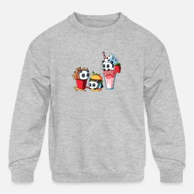 Meal COMBO MEAL - Kids' Crewneck Sweatshirt