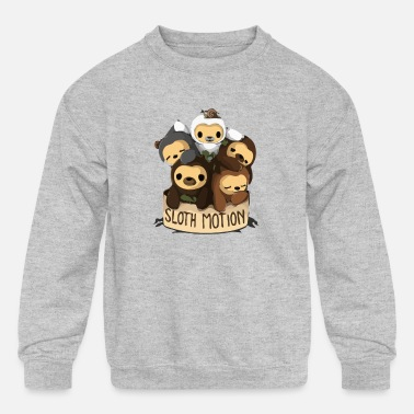 Motion SLOTH MOTION - Kids' Crewneck Sweatshirt