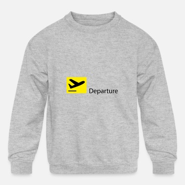 Take-off-plane Take off - Kids' Crewneck Sweatshirt