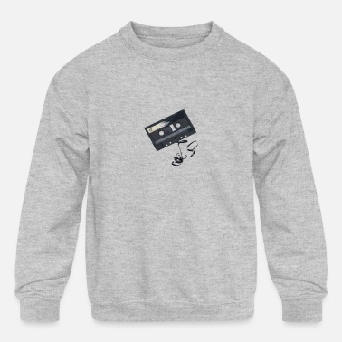 Old school - Kids' Crewneck Sweatshirt