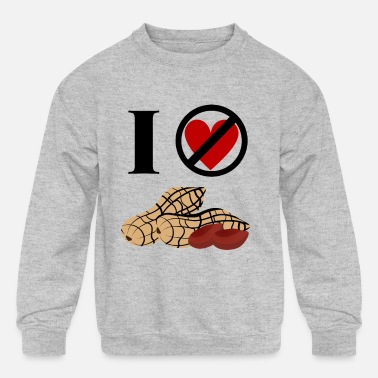 Peanut Allergy Peanut Allergy - Kids' Crewneck Sweatshirt