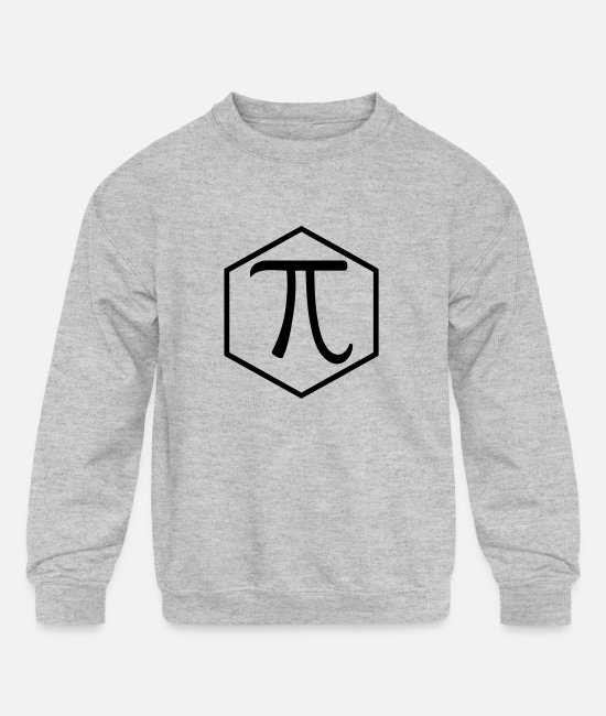 Infection Hoodies & Sweatshirts - Pi - Kids' Crewneck Sweatshirt heather gray