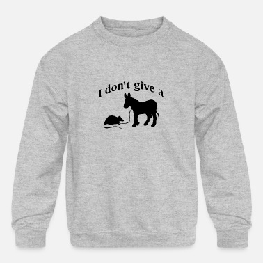 rats-ass - Kids' Crewneck Sweatshirt