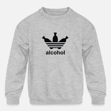 Alcohol ALCOHOL - Kids' Crewneck Sweatshirt
