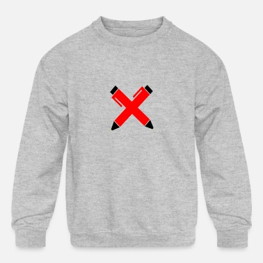 Pen pens - Kids' Crewneck Sweatshirt