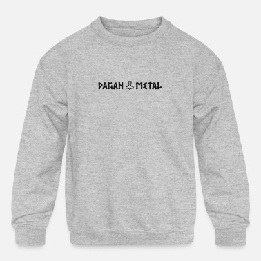 Pagan Metal | Thors Hammer Viking - Kids' Crewneck Sweatshirt