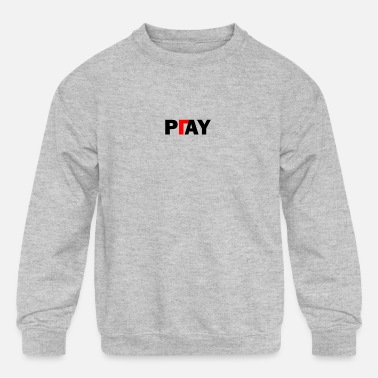 Pay Pay or Play - Kids' Crewneck Sweatshirt