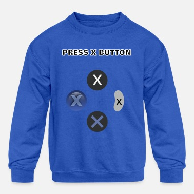 PRESS X - Kids' Crewneck Sweatshirt