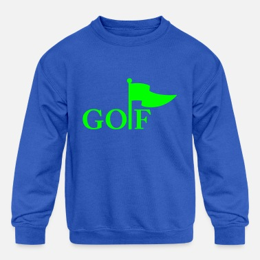 Golf golf - Kids' Crewneck Sweatshirt