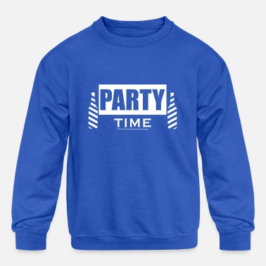 Party Party College Party - Kids' Crewneck Sweatshirt