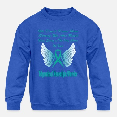 Trigeminal Neuralgia Trigeminal Neuralgia Awareness - Kids' Crewneck Sweatshirt