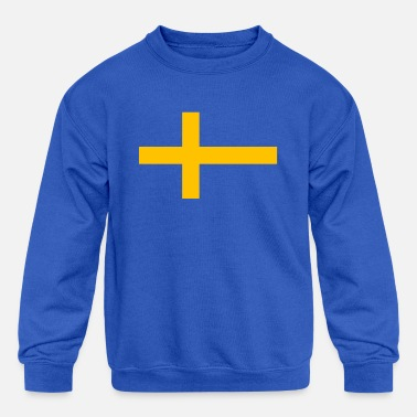 Sweden Swedish National Flag Sweden - Kids' Crewneck Sweatshirt