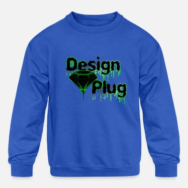 Designs For Street Design Plug Co - Kids' Crewneck Sweatshirt
