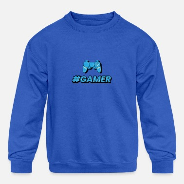 Gamer Merchandise By Games Trident - Kids' Crewneck Sweatshirt