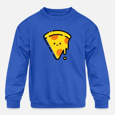 Pizza lover - Kids' Crewneck Sweatshirt