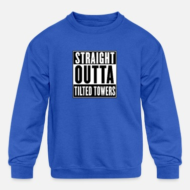 Tower STRAIGHT OUTTA TILTED TOWERS - Kids' Crewneck Sweatshirt
