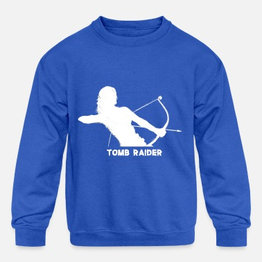 TOMB RAIDER - Kids' Crewneck Sweatshirt