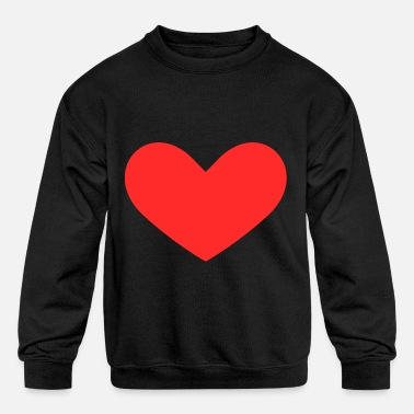 Red Heart Red heart - Kids' Crewneck Sweatshirt