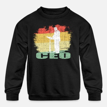 Retro Ceo Tee Shirt - Kids' Crewneck Sweatshirt