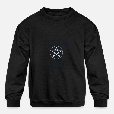 Hex The Patriarchy Feminist Witchcraft Witch Femin - Kids' Crewneck Sweatshirt