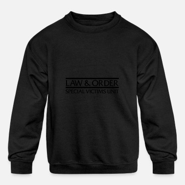 Svu Law Order Svu Logo Crew Neck - Kids' Crewneck Sweatshirt