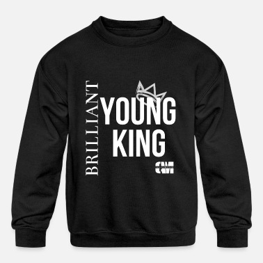 CAM, Young King - Kids' Crewneck Sweatshirt
