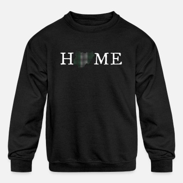 Home Country Nigeria Home Country - Kids' Crewneck Sweatshirt