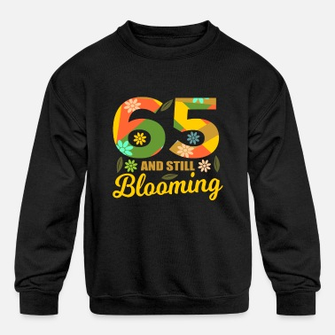 Year 65th Birthday 65 years old 65th Party Gift Idea - Kids' Crewneck Sweatshirt