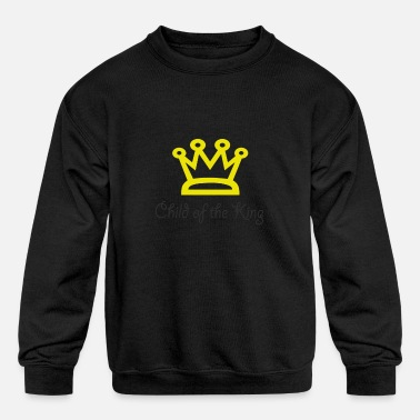 Child of the King - Kids' Crewneck Sweatshirt