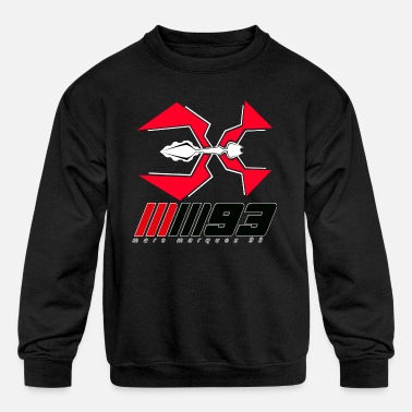 MM93 Marc Marquez logo - Kids' Crewneck Sweatshirt