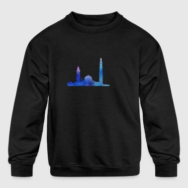 mosque - Kid's Crewneck Sweatshirt