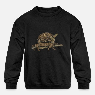 Crocodiles Crocodile - Kids' Crewneck Sweatshirt
