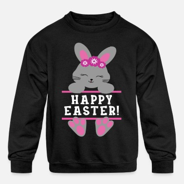 Short happy Easter Newborn Infant Baby - Kids' Crewneck Sweatshirt