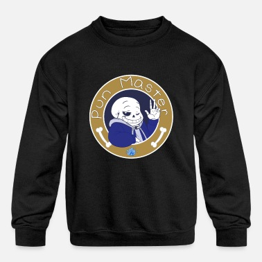 Undertale The Pun Master - Kids' Crewneck Sweatshirt