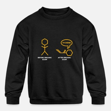 Chemist Chemistry Joke for chemist nerds - Kids' Crewneck Sweatshirt